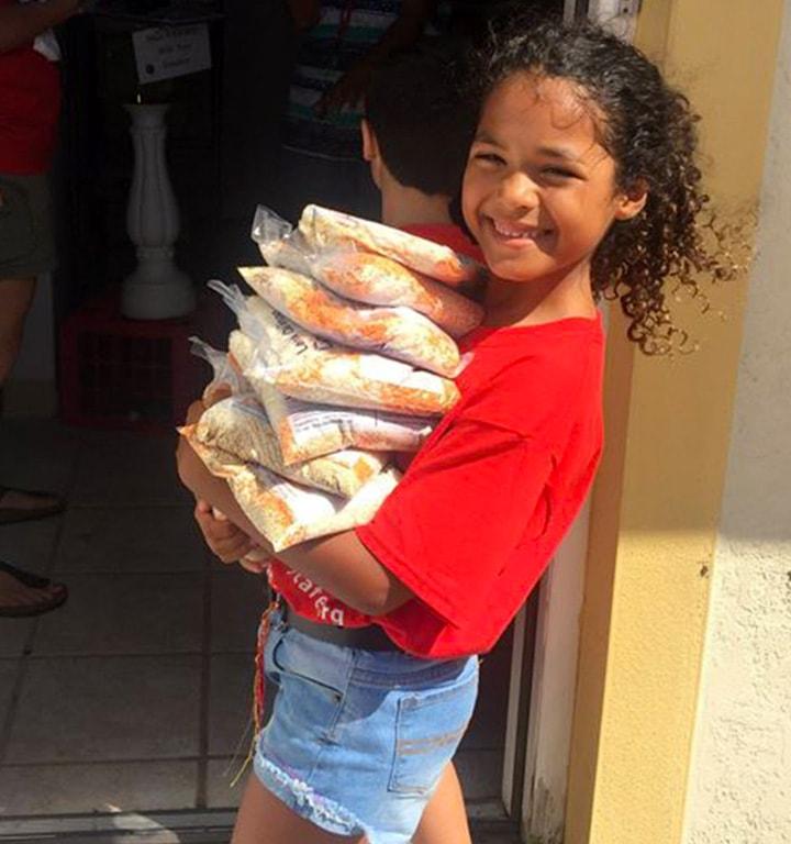 casserole making kid scouts program