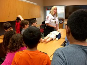Reedy Creek Fire Department Welcomes Kid Scouts